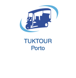 Tuktour Porto Tourism and tourist sightseeing in Porto Vila Nova de Gaia and Matosinhos in Tuk