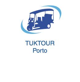 Tuktour Porto Tourisme et parcours touristiques à Porto Vila Nova de Gaia et Matosinhos en Tuk